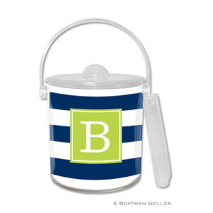 Ice Bucket - Awning Stripe
